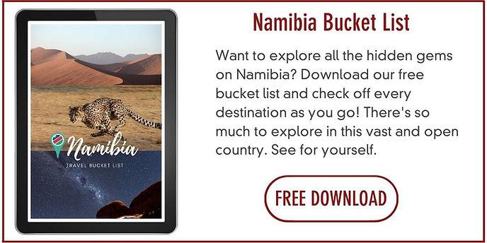 Namibia bucket list