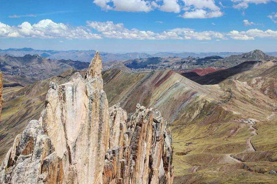 Palccoyo Rainbow Mountains in Peru