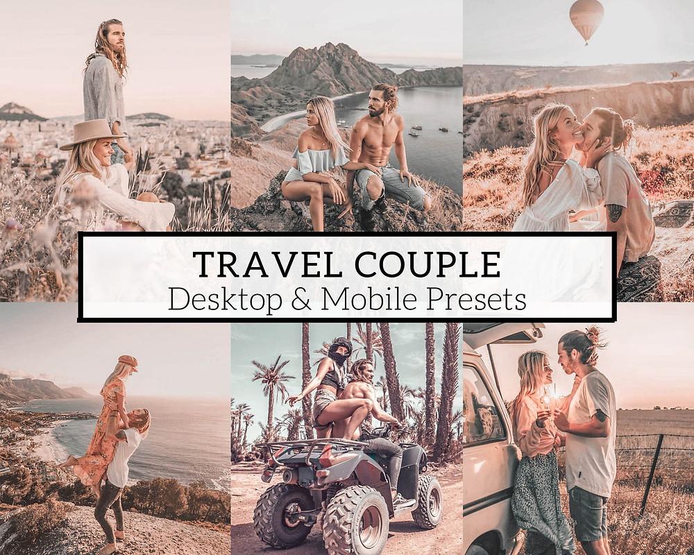 Valentine's Day travel couple preset