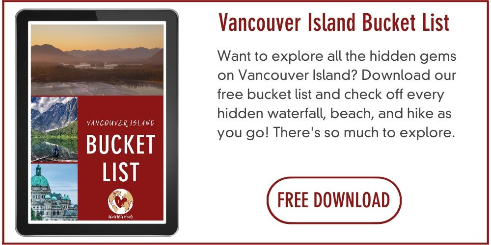 Vancouver Island Bucket list travel destinations