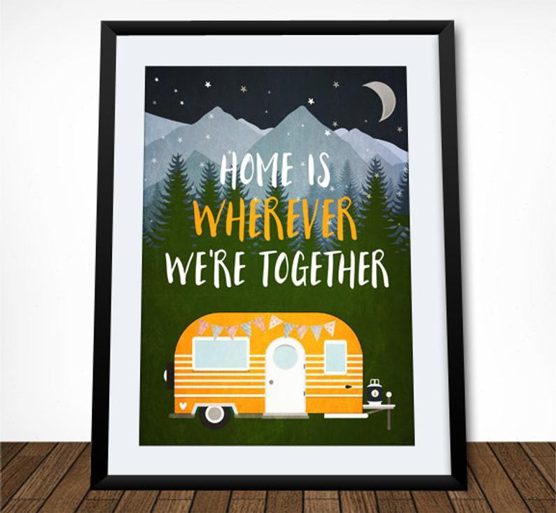 Van life couple quote