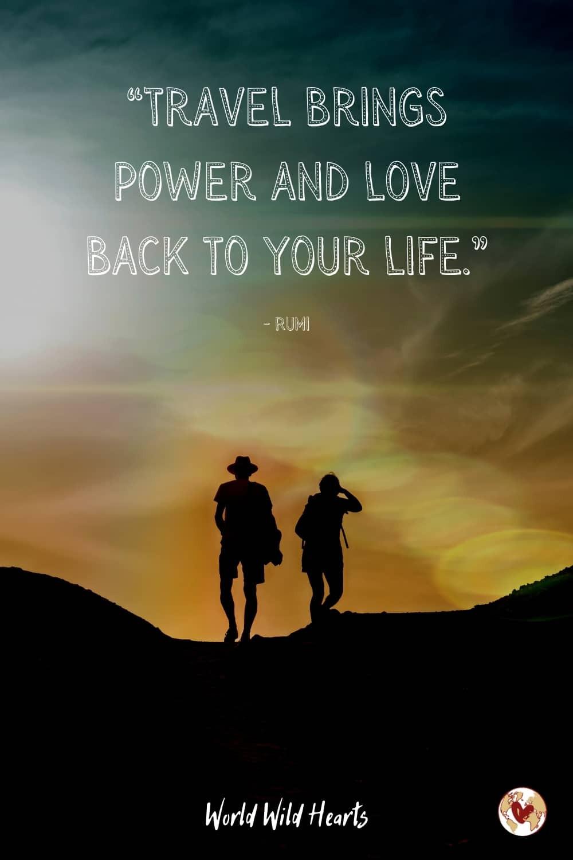 Most romantic travel quote ever