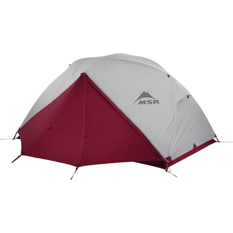 tent for banff hiking trip