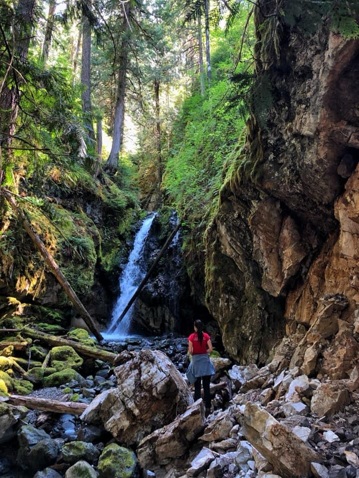Karst Creek Falls
