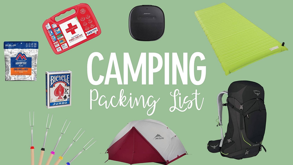 Camping List To Pack