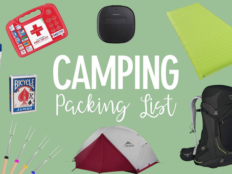 Camping List To Pack For Adventures: The Ultimate Guide