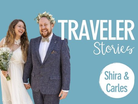 'Love Is Not Tourism': Shira & Carles' story