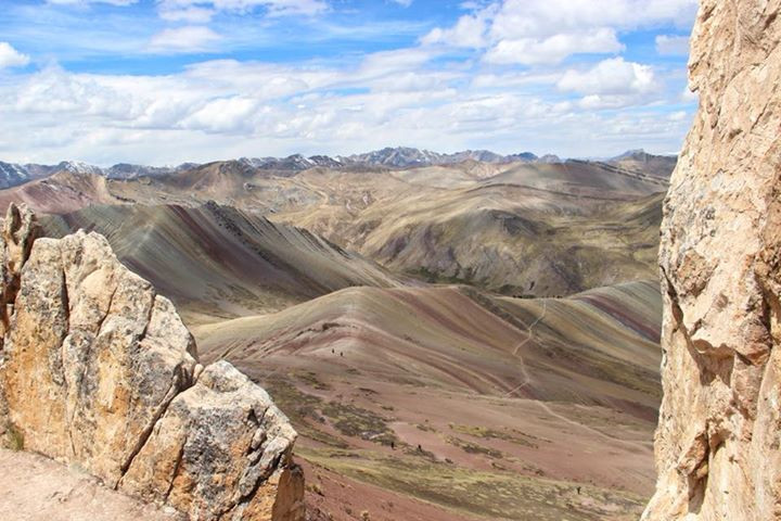Travel to the Palccoyo Rainbow Mountains in Peru