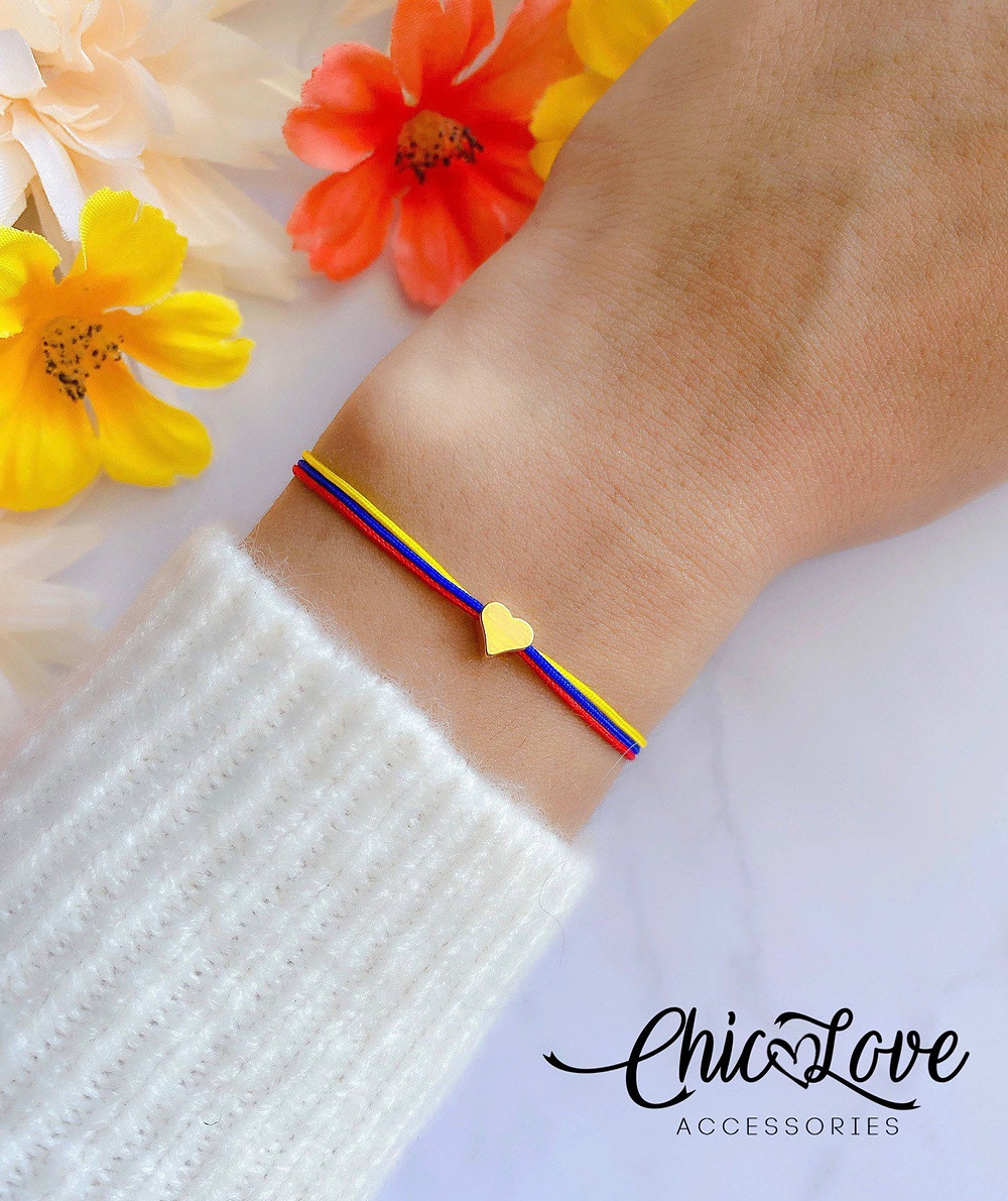 colombia travel bracelet