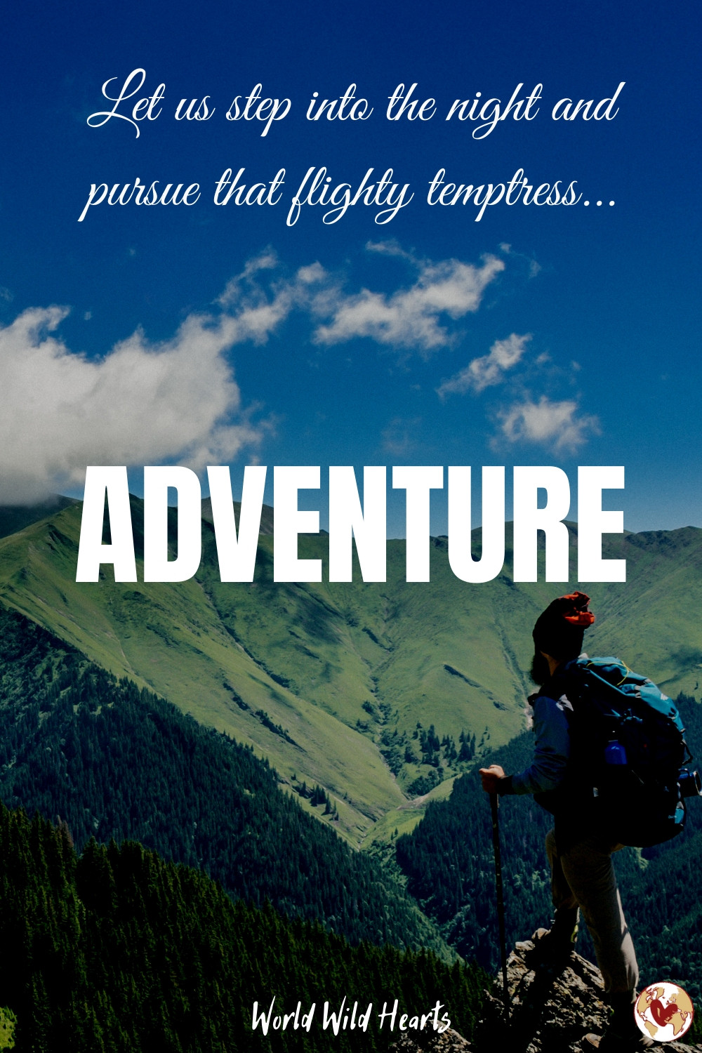 Famous female travel quote