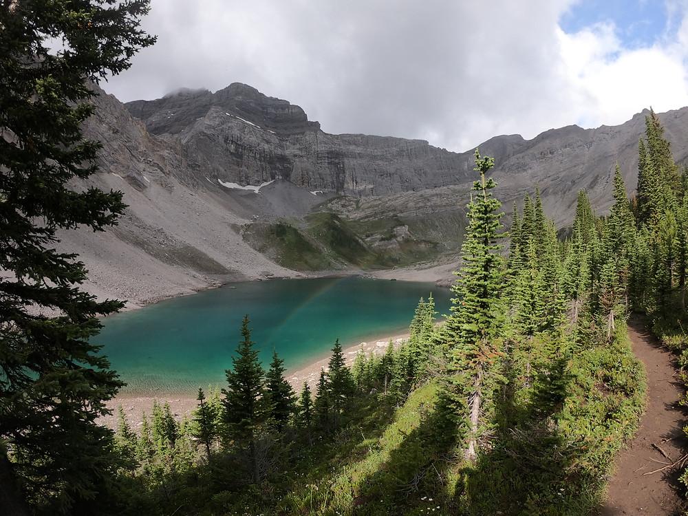 Lillian Lake campground hike to Galatea Lake