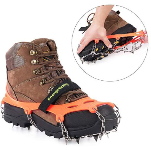 cleats for hiking in winter