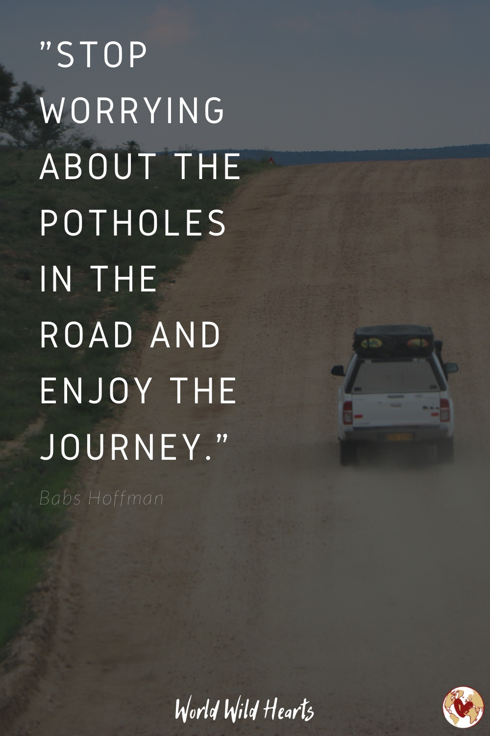 Travel quote inspirational about journey