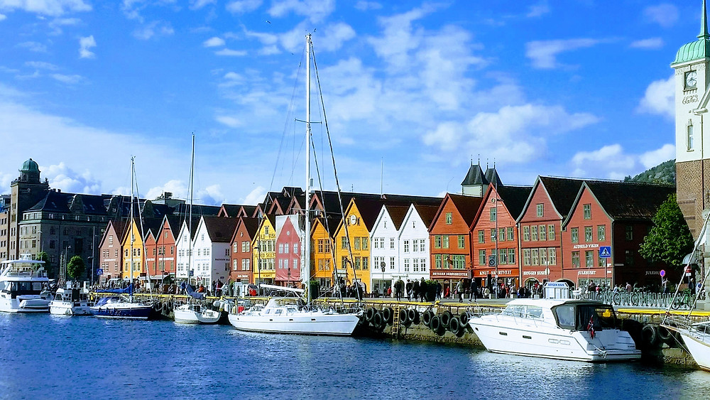 Bergen top things to do is visit Bryggen
