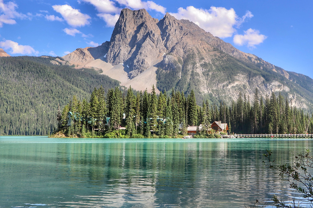 Emerald Lake is one of the best hikes near banff