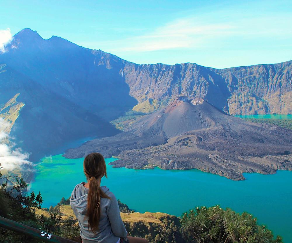 world's best hike in indonesia to mt rinjani