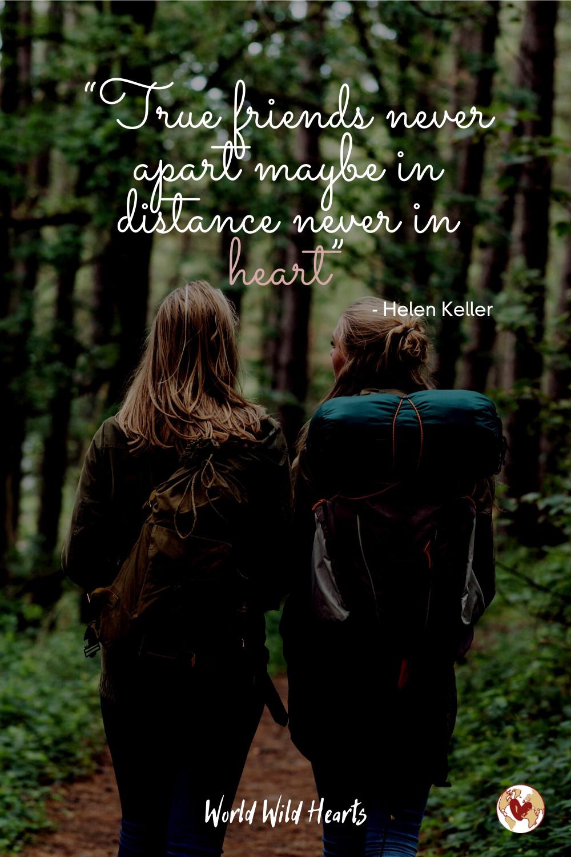 True friends travel quote