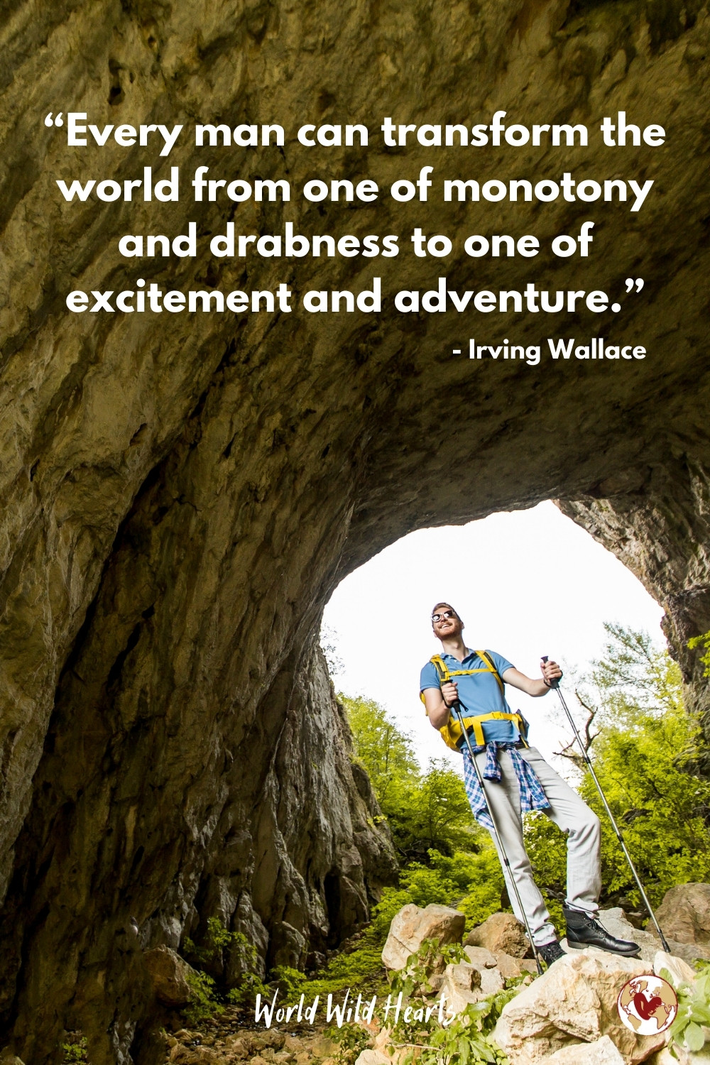 Adventure quote for traveling people