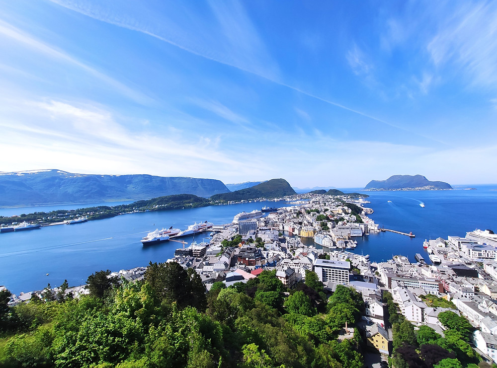 Aksla Viewpoint is a top thing to do in Ålesund