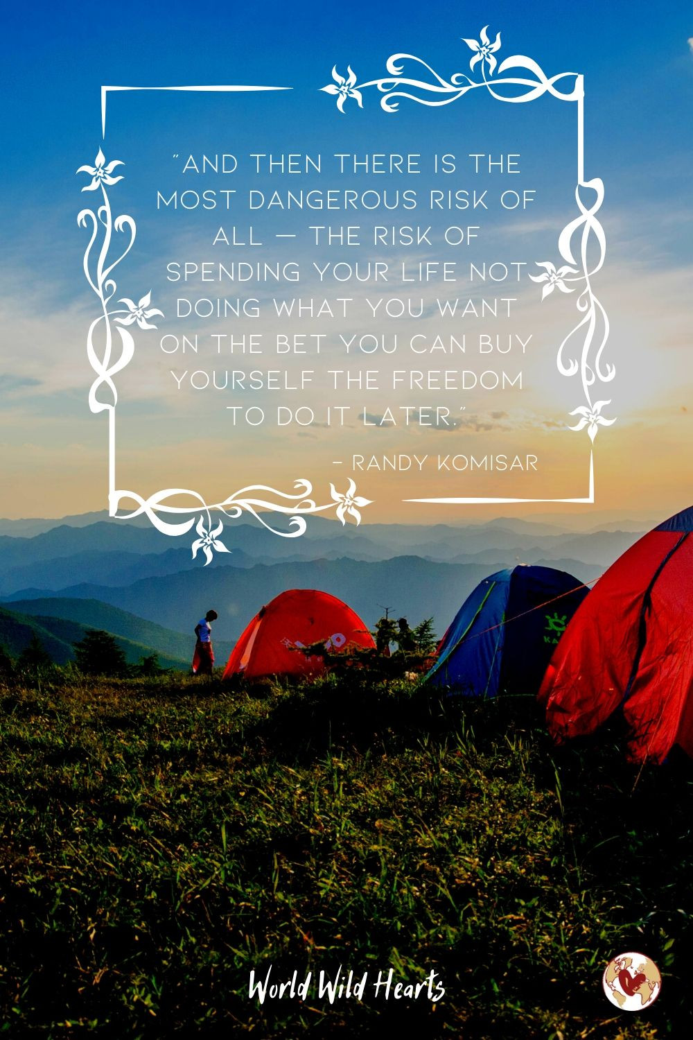 Long wanderlust travel quote