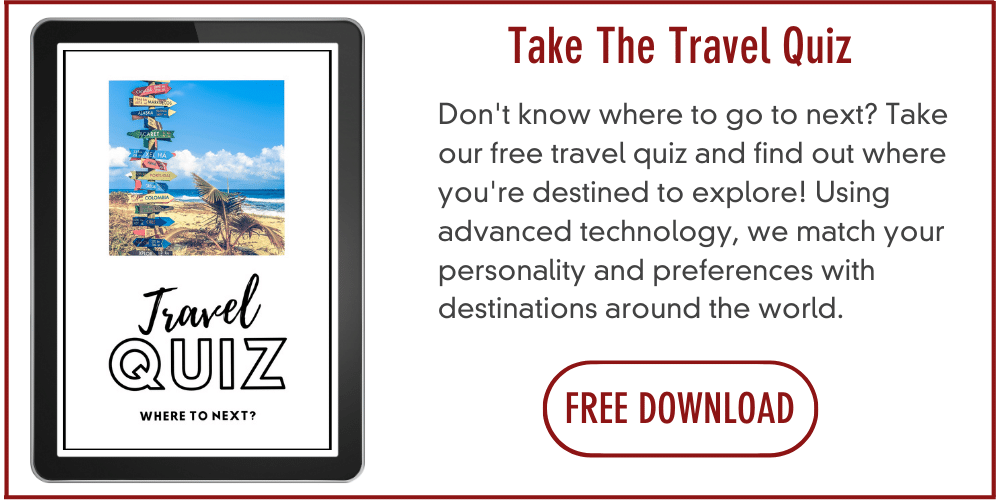 Where to travel next quiz