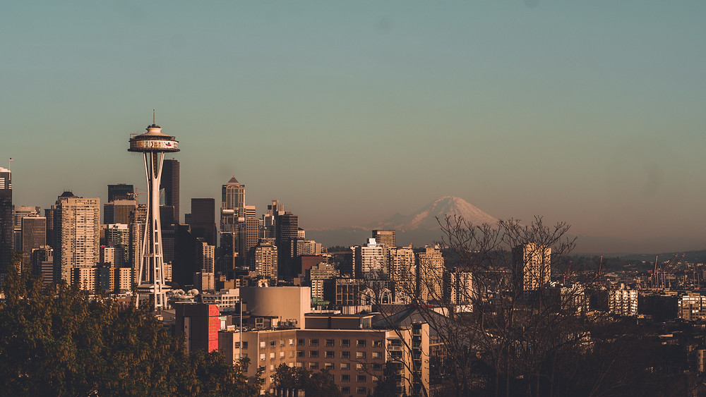 Kerry Park is the top attraction in Seattle because of the beautiful skyline view
