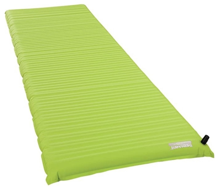 Air mattress for camping trip