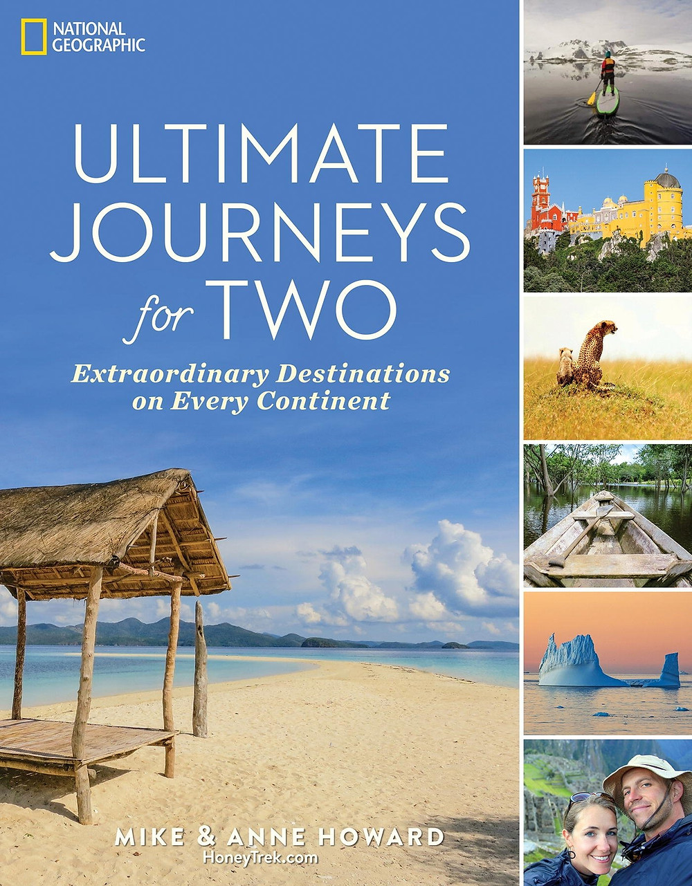Valentine's Day gift travel book for couples