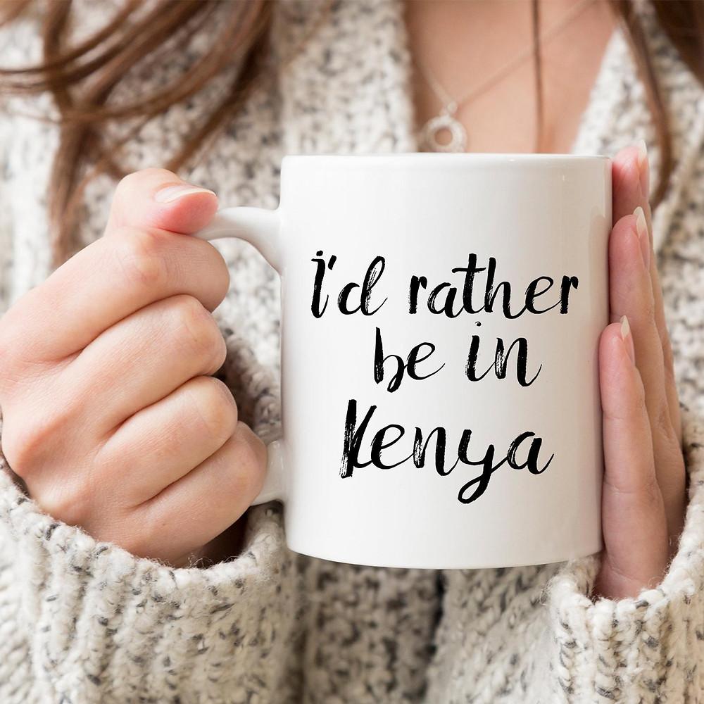 Kenya travel mug