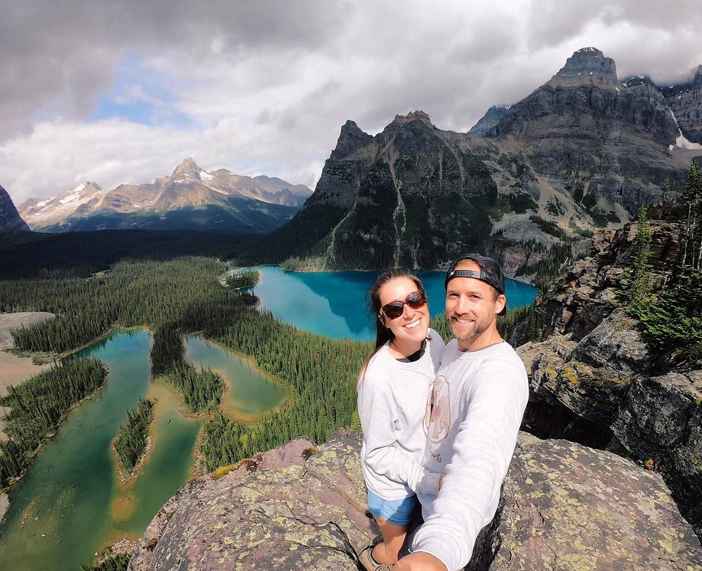 World's best day hike in Canada, lake o'hara