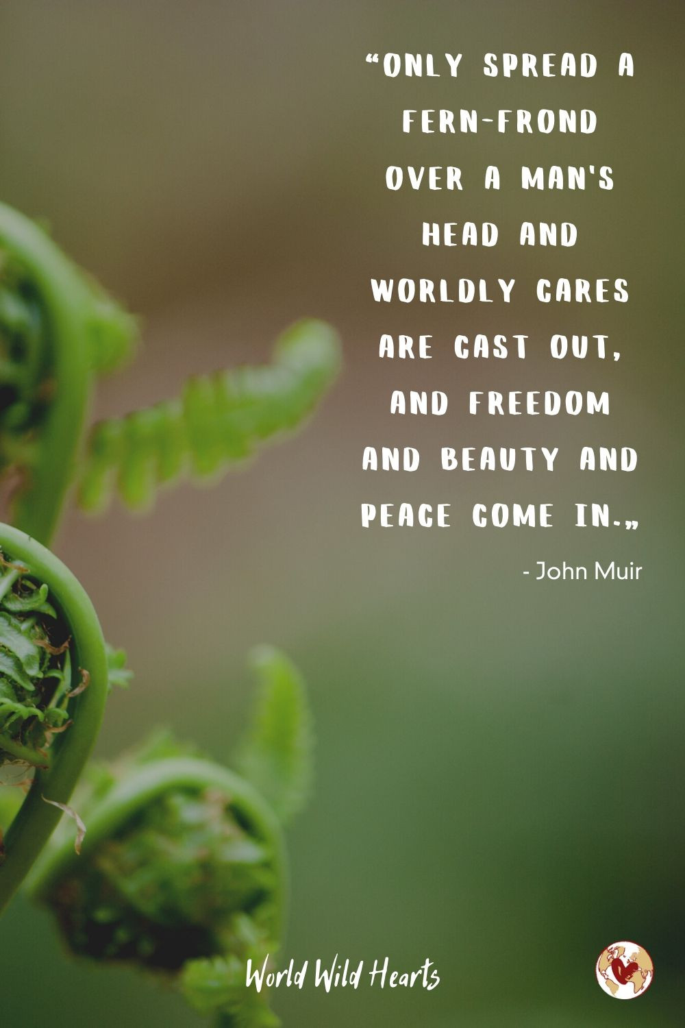 John Muir quote on nature