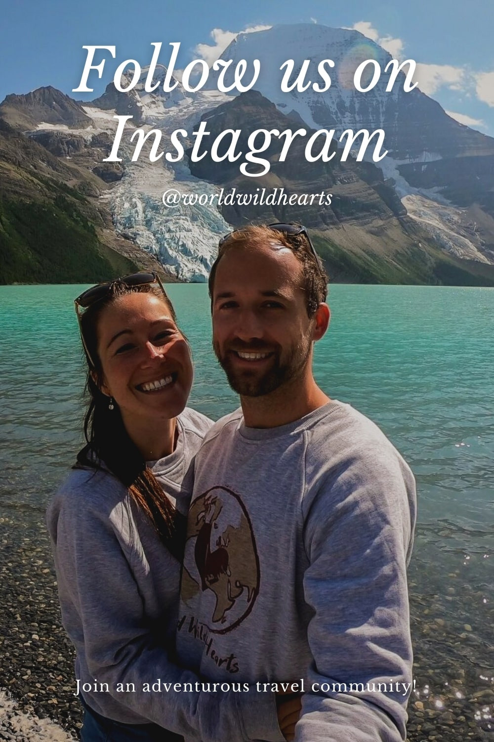 Canadian Rockies travel adventures on Instagram