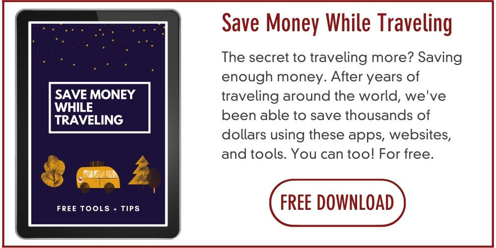 How to save money traveling the world