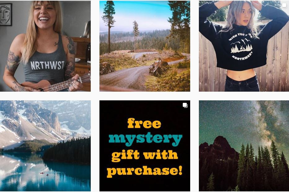 Travel Apparel Brand in the Northwest