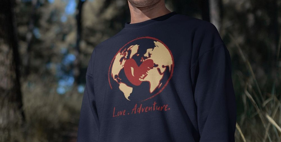 Love adventure sweater