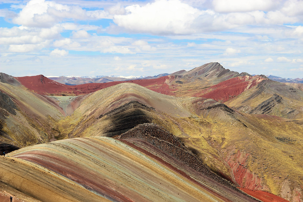 The Palccoyo Rainbow Mountains are a less crowded alternative