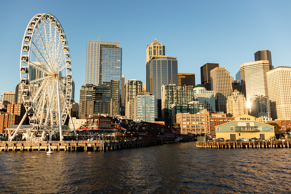 Walk around Pier 57 in Seattle if you want to explore like a local