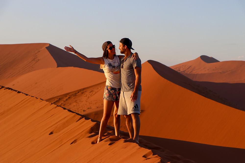 Dune 45 is on the Namibia Travel Bucket List