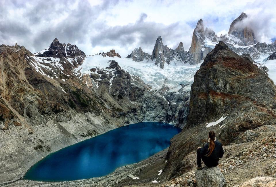 Laguna de los Tres in El Chalten is a must-see place in Patagonia