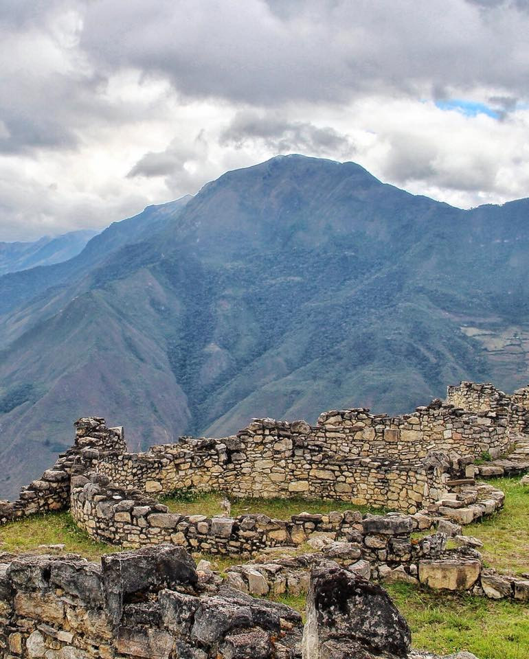 travel to off the beaten path kuelap in Peru