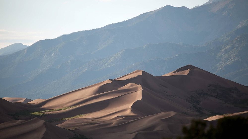 Top US National Park with sand dunes