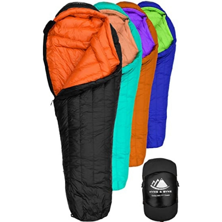 Sleeping bag for camping list