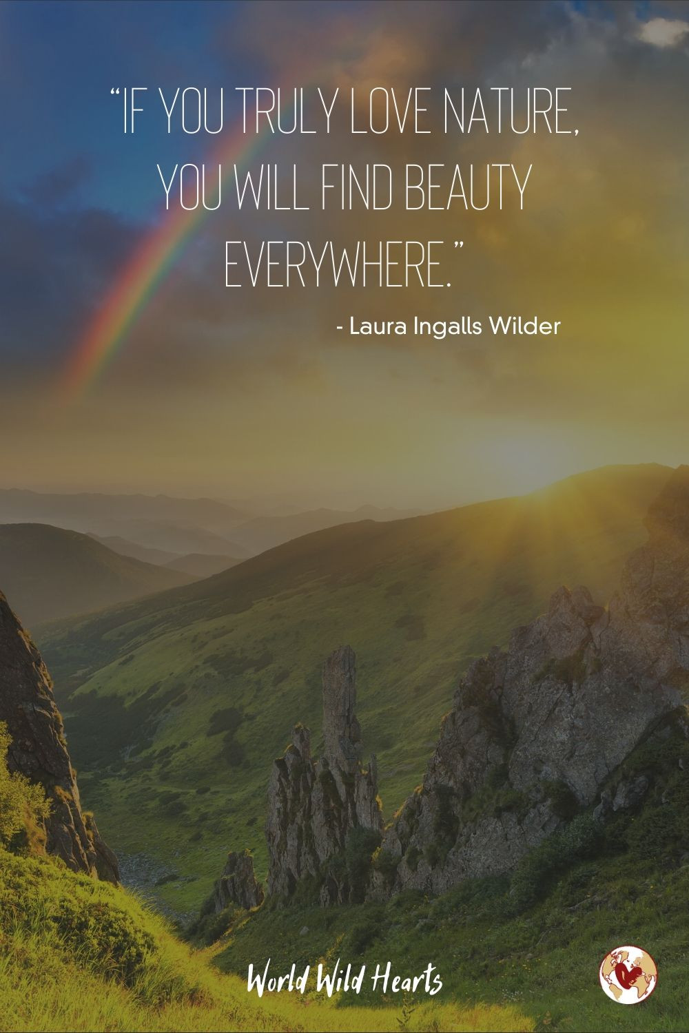 Nature beauty quote