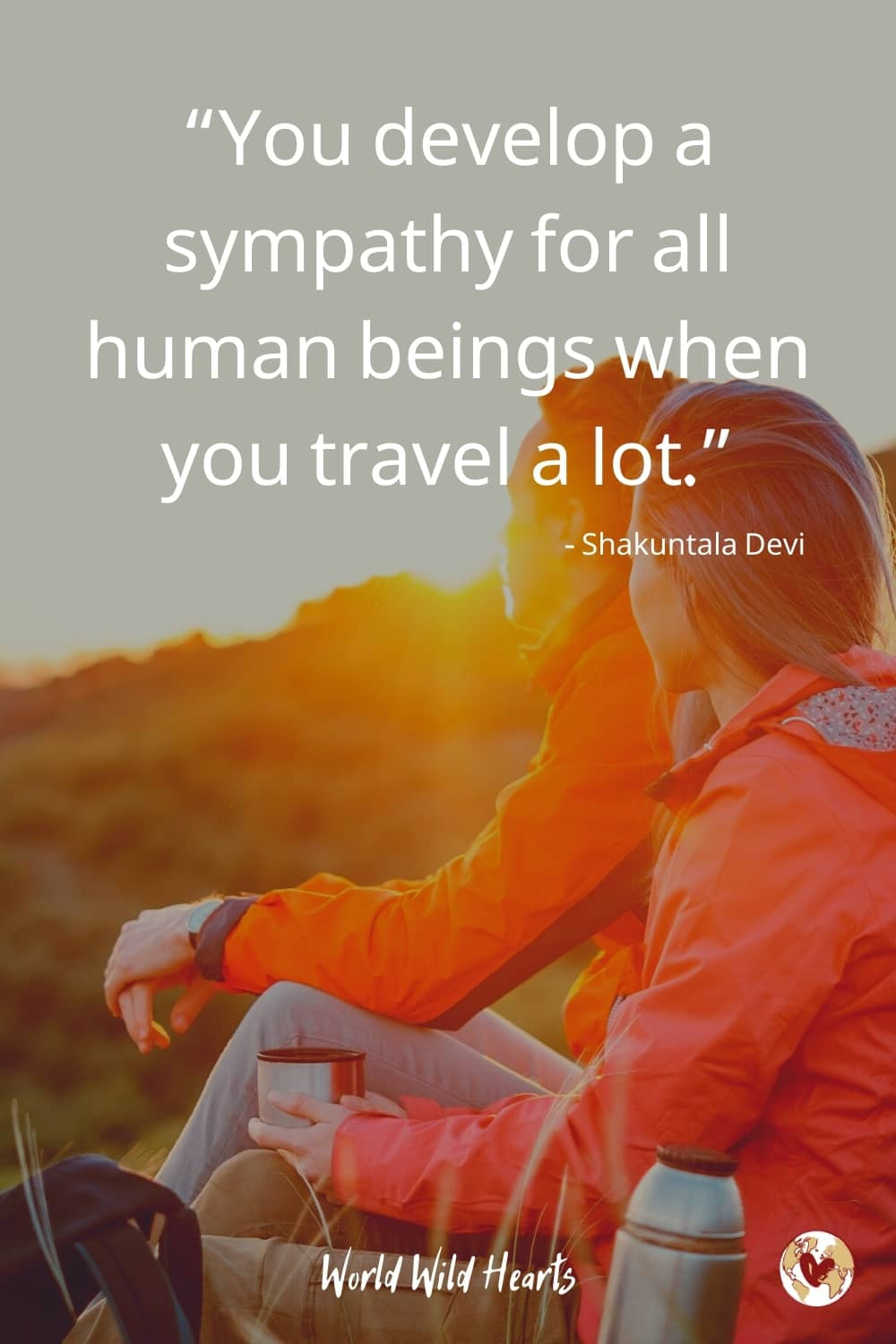Fall in love travel quote