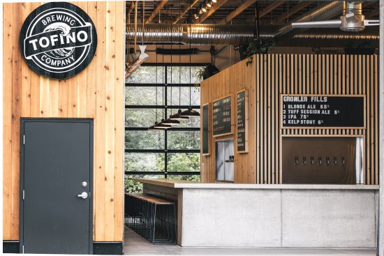 Visiting the Tofino Brewery is one of the top things to do in tofino