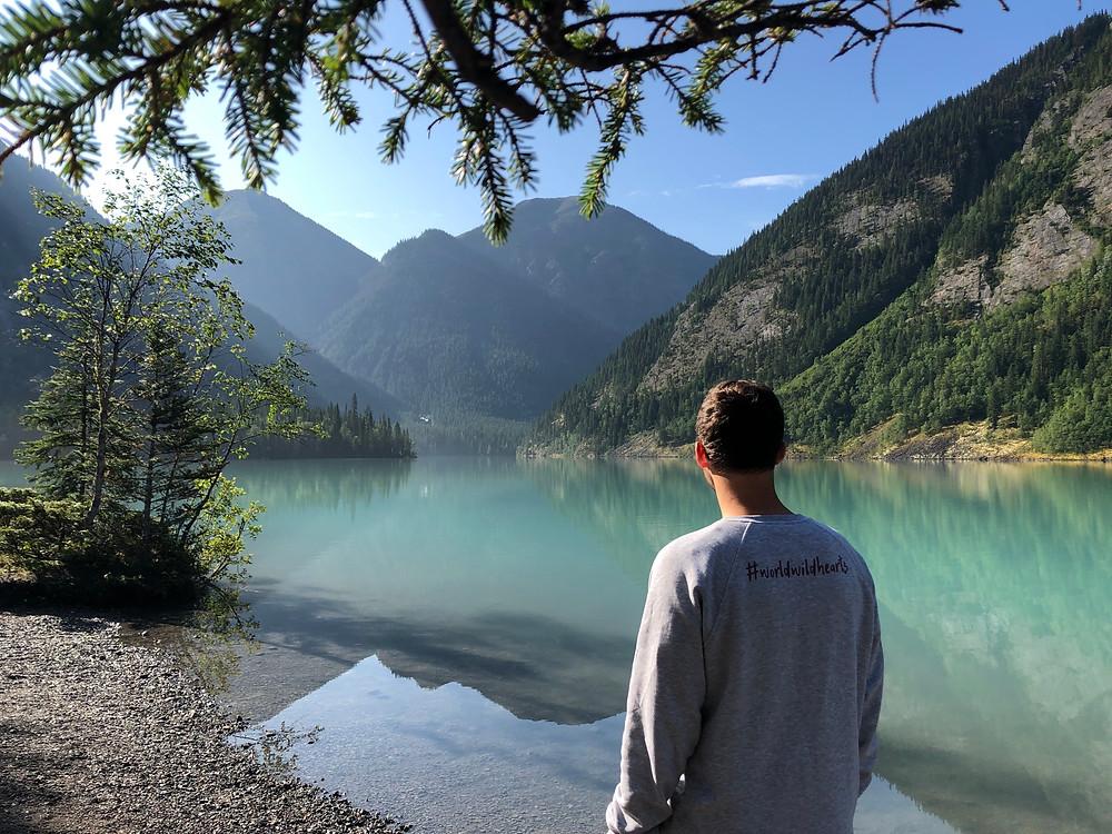 berg lake trail canada as a world's best hike