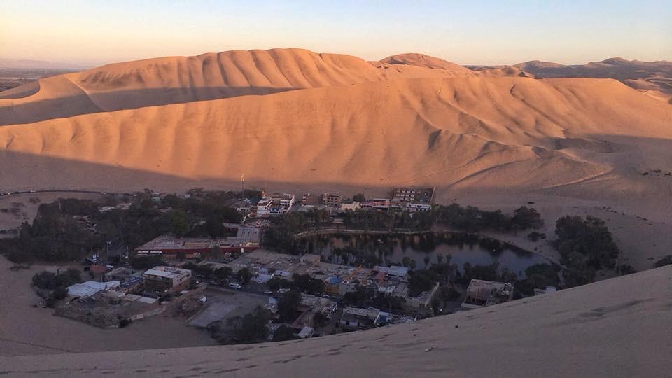 travel to peru for its desert like huacachina