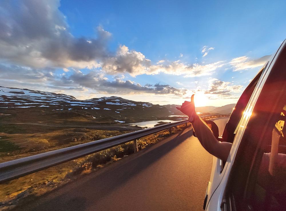 Driving in Western Norway