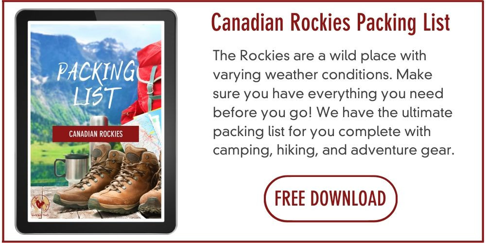 Rockies packing list for camping