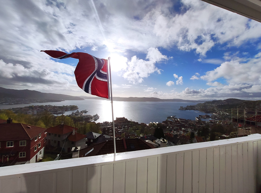 City of Bergen in Western Norway